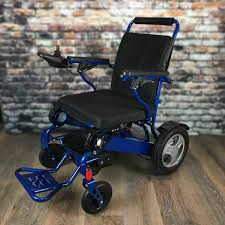 Heavy-Duty FOLD & GO Electric Wheelchair® (Blue) Drive Medical Flyweight Lweight Transport Wheelchair With Removable Wheels 19 Inch Seat Red Ewm45 Folding Electric Transportwheelchair Xenon 2 By Quickie Sunrise Igo Power Pride Ultra Light Quickie Wikipedia How To Fold And Transport A Manual Wheelchair 24 Inch Foldable Chair Footrest Backrest