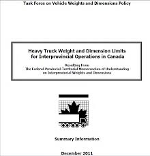 100 Truck Weights Task Force On Vehicle And Dimensions Policy