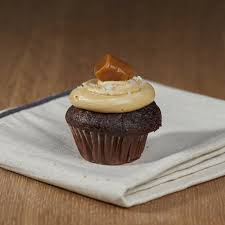 Salted Caramel Mini Cupcake