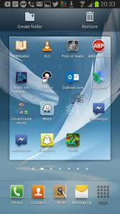 android remove apps home screen