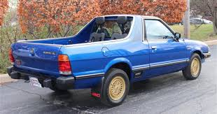 100 Subaru Truck Car Remember The Brat With Seats In The Pickup Bed