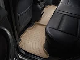 amazon com weathertech custom fit rear floorliner for ford f250
