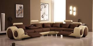 Tufted Curved Sectional Sofa — FABRIZIO Design Decorating Living