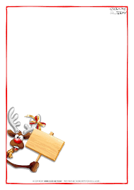Letter Template Santa Claus Printable – Merry Christmas & Happy