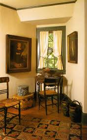 Calming Colors Primitive Decor Best Early American Colonial Home Decorating Interiors House Plan Interior Design