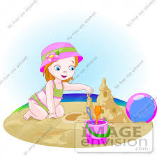 Sand Castle Clipart Cartoon 20