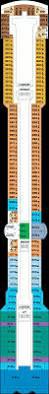 Celebrity Millennium Deck Plans by Balcony Cabin 6026 On Celebrity Infinity Category 2c