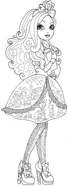 Apple White Free Printable Ever After High Coloring Pages Sheet My Little Pony Applejack Baby Bloom