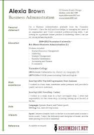 Resume Samples For Business Administration Graduate Also Examples Analyst