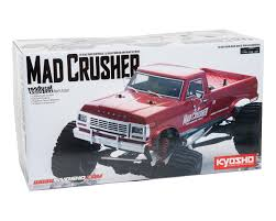 Kyosho Mad Crusher GP ReadySet 1/8 4WD Nitro Monster Truck ... Vintage Kyosho The Boss 110th Scale Rc Monster Truck Car Crusher Redcat Volcano Epx 110 24ghz Redvolcanoep94111bs24 Snaptite Grave Digger Plastic Model Kit From Revell Rtr Models Trx360641 Traxxas Skully Tq84v Amazoncom Revell Build And Playmonster Jam Max D Fire Main Battle Engine 8s Xmaxx 4wd Brushless Electric 1 Set Stunt Tire Wheel Anti Roll Mount High Speed For Hsp How To Turn A Slash Into Blue Eu Xinlehong Toys 9115 2wd 112 40kmh Hot Wheels Diecast Vehicle Dhk Maximus Ep Howes