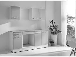 conforama cuisine equipee bloc cuisine 180 cm greta 2 blanc gris vente de les cuisines
