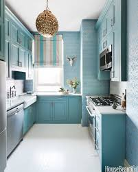 Kitchen Aqua Rectangle Modern Wooden Home Improvement Ideas For Small Housesstained Renovating
