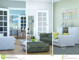 100 Modern Loft Interior Design Splitted Color Variations Of A