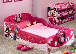Minnie Mouse Bedroom Accessories Ireland by Minnie Mouse Interactive Wood Toddler Bed Delta Children U0027s Products