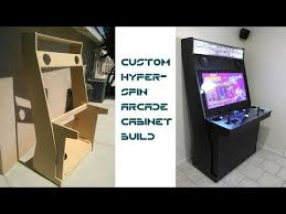 4 Player Arcade Cabinet Dimensions by Custom Hyperspin Arcade Cabinet Updated With Links To Plans