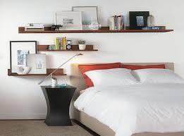 bedside wall shelf for bed and modern bedroom marensky