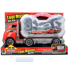 Tool Master Big Rig Truck Free Wheeling Truck With Sound Fix It ...