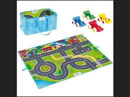 tapis de jeux ikea tapitom tapis de jeu circuit de voiture pour enfant f1 130 x