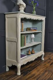 Small French Curve Fronted Bookcase