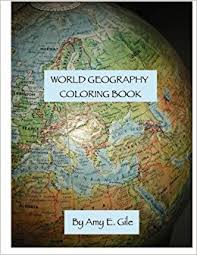 Cool The Geography Coloring Book