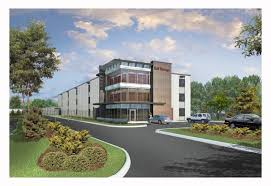 Rendering Of The Multi Story Self Storage Facility