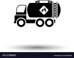 100 Tank Truck Fuel Tank Truck Icon Royalty Free Vector Image