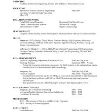 Format For A Resume Free 37 Unique Resume Summary For College