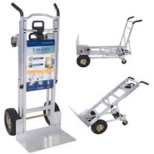 1000 Lbs. 3-in-1 Aluminum Assisted Hand Truck With Flat Free Wheels ... 15 Discount 3 In 1 Alinum Hand Truck Foldable Dolly Cart 1000 Lb Cosco 3in1 Assisted With Flat Free Products Shifter Mulposition Folding And Yao Hoo Metal Industrial Ltd 3in1 Truckassisted Truckcart W Flat Csc122bgo1e 2in1 And 16 5 Nk Heavy Duty In Convertible Rk Industries Group Inc 2in1 58 X 12 34 49 14 Sco Alinium Sack Parrs Workplace Equipment Trucks Stock Ulineca R Us Htrus Position Nk Rk