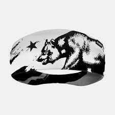 Sleefs California Flag Black And White Headband