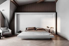 montevil attic guest bedroom and bathroom on behance