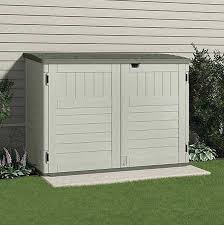 Suncast Outdoor Storage Shed 70 12inwx44 14ind Bms4700 Zoro Yard