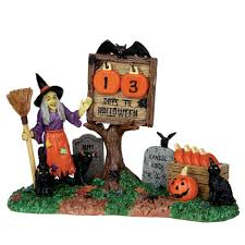 Lemax Halloween Village Displays by Lemax Spooky Town Collection Countdown To Halloween 7 Pc Set