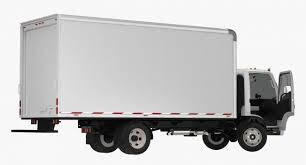 3D Box Truck Isuzu NPR 2018 Rigged | 3D Molier International