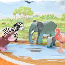 Hape Kitchen Set India by Le Toy Van Zambezi Wild Animal Set 29 95