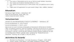 Resume Objective Internship Engineering Recent Graduate For School Example College Student