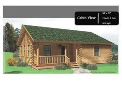 Cabin Homes Floor Plans