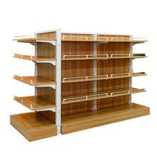Wooden Retail Display Stand Shelf Rack For Beers Wines Spirits