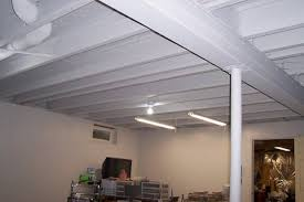 Cheap Diy Basement Ceiling Ideas by Cool And Opulent Ideas For Basement Ceiling Basements Ideas