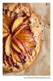 Nectarine Galette A Perfect Dessert This Comes With Bottom Layer Of Crust And