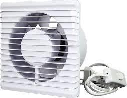 badlüfter ø100mm weiß energieeffizient und still mit stecker und schalter 100ps