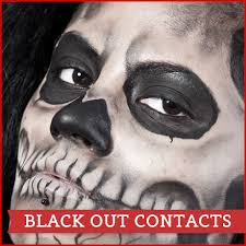 All White Halloween Contacts by Halloween Contact Lenses Halloween Contacts