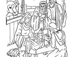 Jesus Birth Coloring Pages 7 Of 21 Disegni Presepe Da