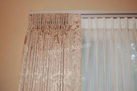 One Way Decorative Traverse Curtain Rods by Traverse Custom Curtain Rods Graber Heavyduty Oneway Baton Draw
