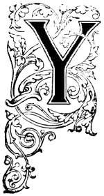 Letter Y Design ReusableArt
