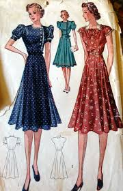 1930s Dresses Catalog And Pattern Pictures