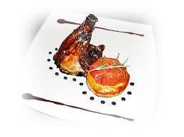 recette cuisine gastro souris d agneau confite feuilleté de tomate aux anchois basilic