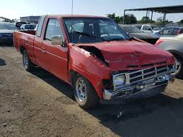 1N6SD16S5MC301201 | 1991 RED NISSAN TRUCK KING On Sale In CA - SAN ...