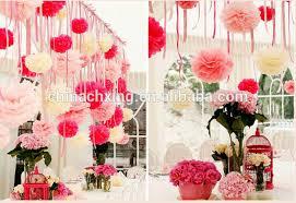 Paper Flower Party Decorations