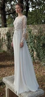 Berta Bridal Long Sleeves Wedding Dresses For Fall And Winter