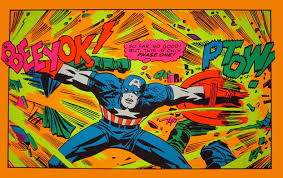 Cool Stuff Vintage Marvel Black light Posters